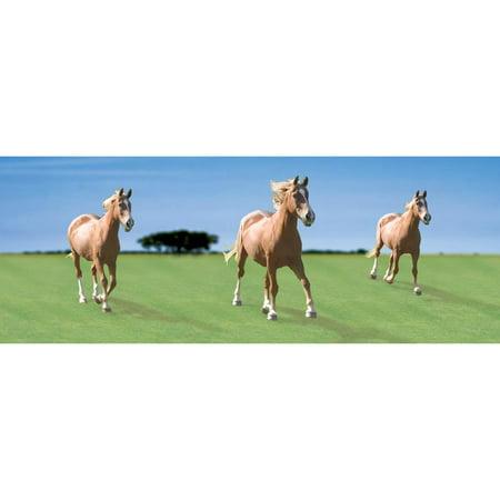 House Bookmark (Horses Lenticular Bookmark by Moovie Studio)