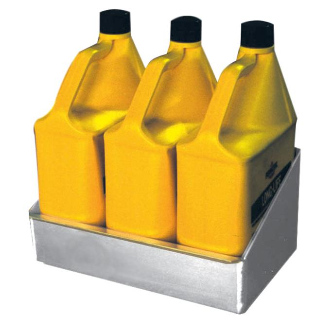 Pit Pal 316 14''W x 8''D Shelf - 3 Gallon