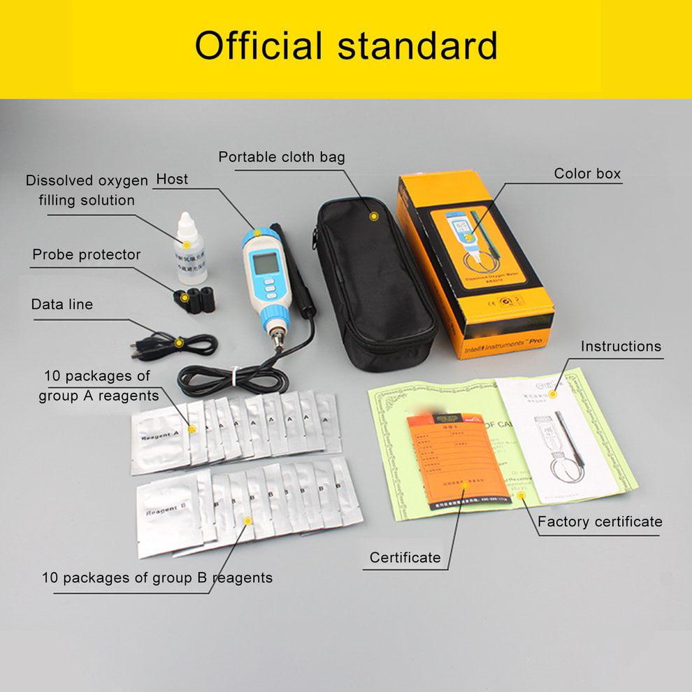 Smart Sensor AR8210 Water Dissolved Oxygen Meter DO Meter Water Quality Tester