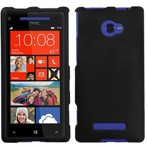 HTC 6990LVW Windows 8X MyBat Protector Case, Solid Red