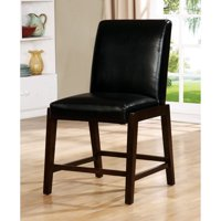 Furniture of America Mixon 24 in. Counter Height Dining Chair - Set of 2