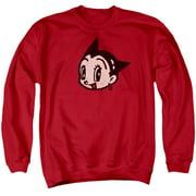 Astro Boy Face Mens Crewneck Sweatshirt