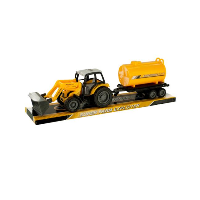 Bulk Buys OF401-2 Toy Farm Tractor Truck, 2 Piece by