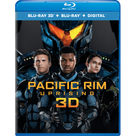 Pacific Rim Uprising (Blu-ray 3D + Blu-ray + Digital) - New Halloween 3d