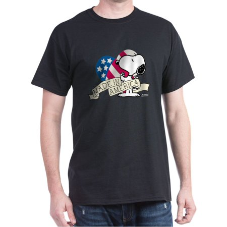 Made In America Snoopy - 100% Cotton T-Shirt