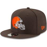 Cleveland Browns New Era Basic 9FIFTY Adjustable Snapback Hat - Brown - OSFA