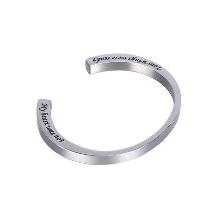 Cremation Jewelry Memorial Urn Bangle Bracelet Keepsake