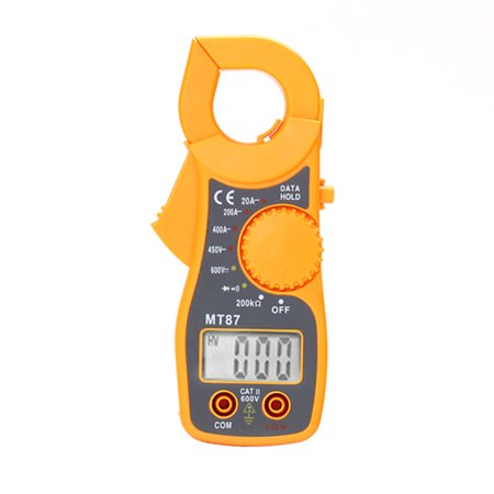 Display Digital Multimeter - HDE Portable AC/DC Digital LCD Display Voltage Multimeter Electronic Clamp OHM Amp Meter Tester
