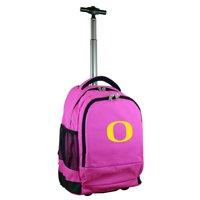 Oregon Ducks 19'' Premium Wheeled Backpack - Black