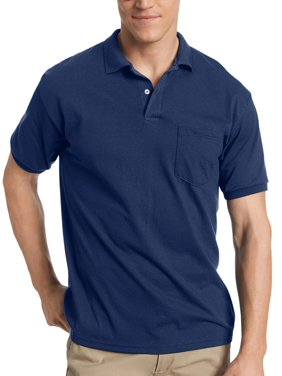 Product Image Men s Comfort Blend EcoSmart Jersey Polo with Pocket df8d288daa15