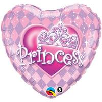 Princess Party Foil Balloon