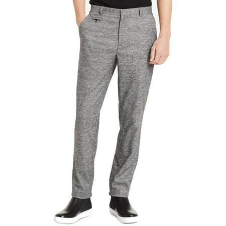 Calvin Klein Mens 34X32 Dress - Flat Front Pants