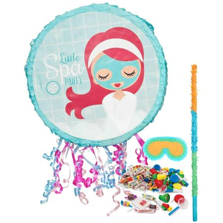 Little Spa Party Pinata Kit](Little Mermaid Pinatas)