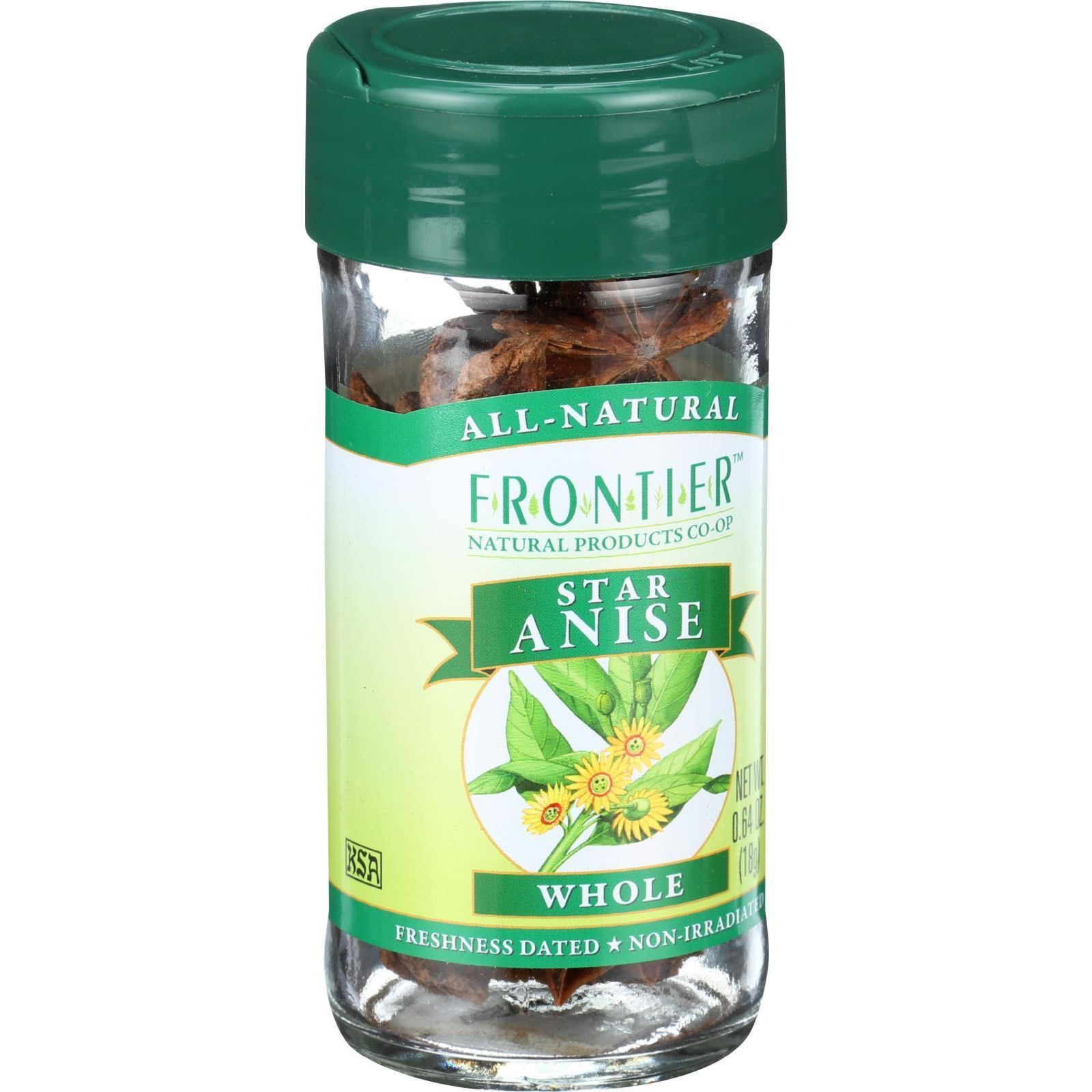 Frontier Herb Star Anise - Whole - Select Grade - .64 oz