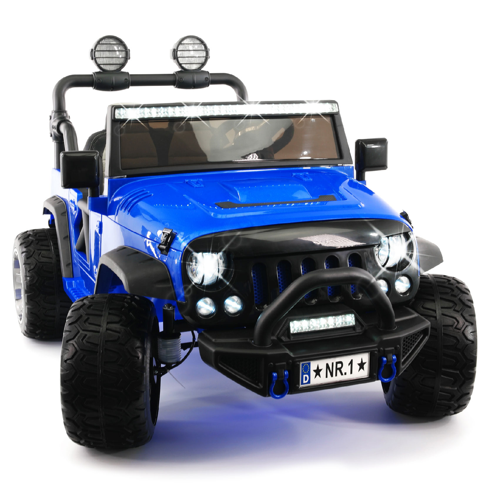 2019 Two Seater Ride On Kid's Truck 12V Power Children's Electric Car Motorized Cars for Kids w  Remote, Large... by