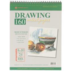 Bulk Buy: Global Art (3-Pack) Spiral Drawing Paper Pad 8'X10' 24 Sheets 661810