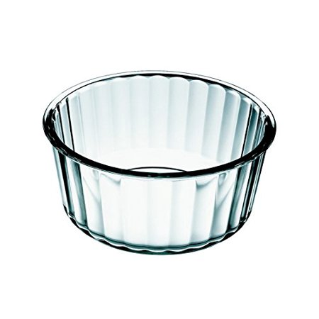 Simax Glassware Clear Glass Souffle Dish | Borosilicate Glass, Microwave, Oven, Dishwasher Safe
