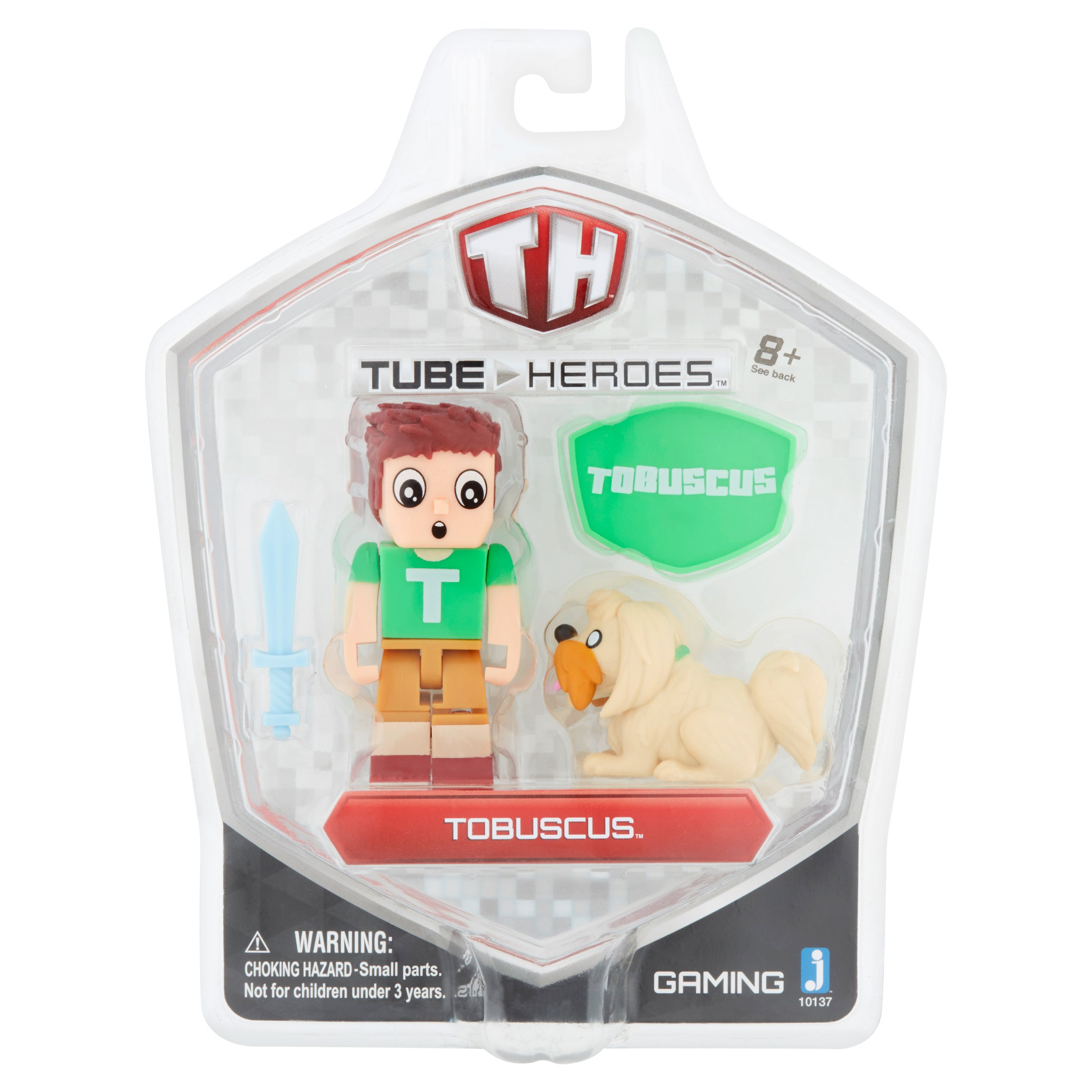 Tube Heroes Tobuscus Toy Figure 8+