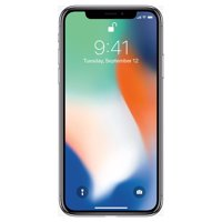 Apple iPhone X 64GB Unlocked GSM Phone w/ Dual 12MP Camera - Silver (Used)