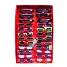 New 501382  24Pcs Fashion Sunglasses With Hang Tag (24-Pack) Fashion Accessories Cheap Wholesale Discount Bulk Accessories. Fashion Accessories (Wholesale Fashion Sun Glasses)
