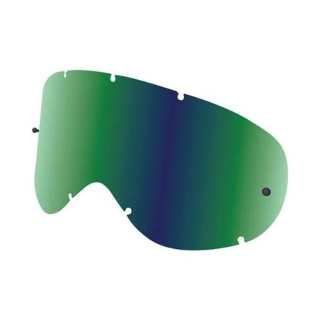Dragon Alliance 228096438751 Replacement All Weather Lens for MDX Snow Goggles - Green Ion