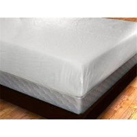 YAL MATCOV-KING Deluxe Zippered Vinyl Bed Bug Proof Mattress Cover - King Size
