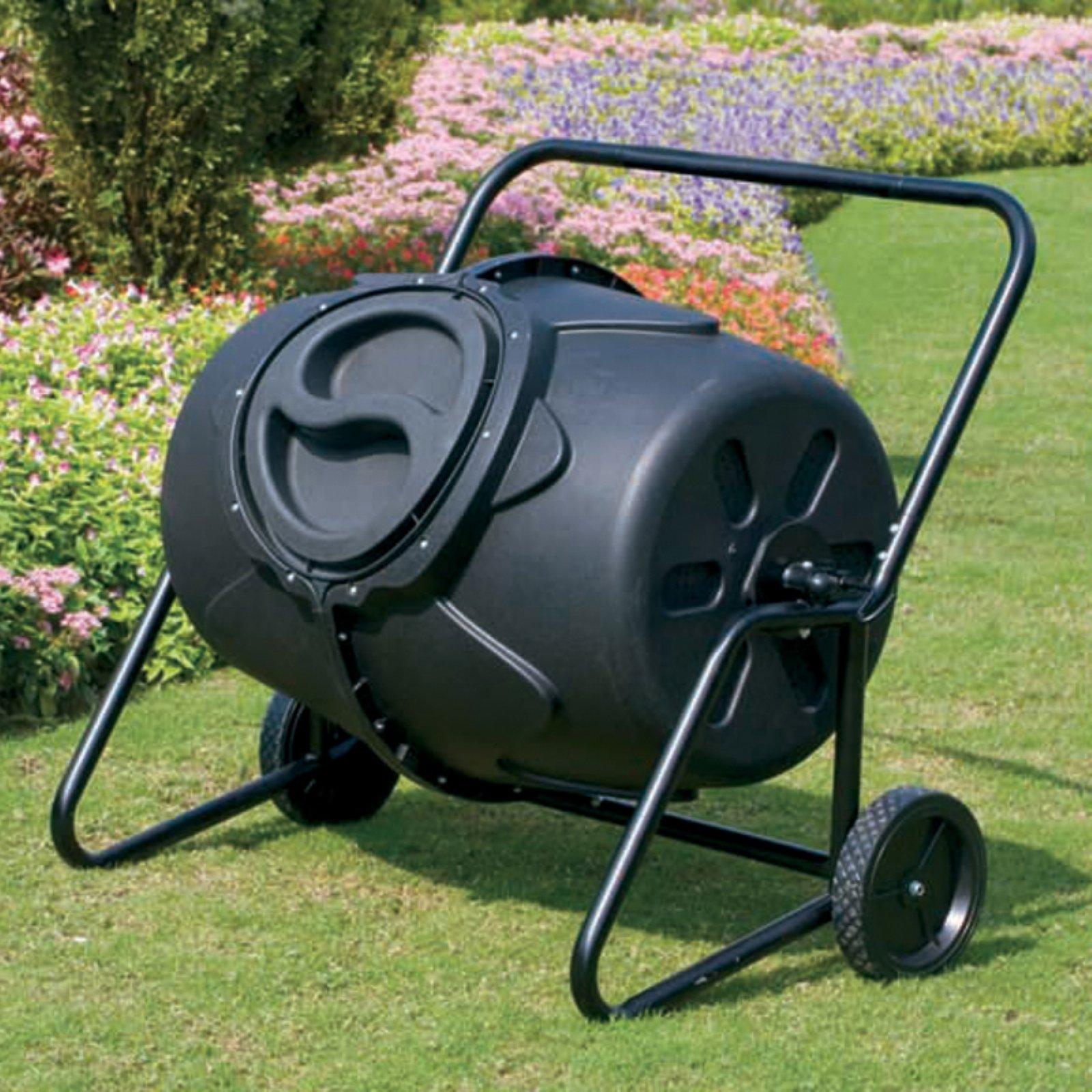 Koolscape 50 gal HD Wheeled Tumbling Composter