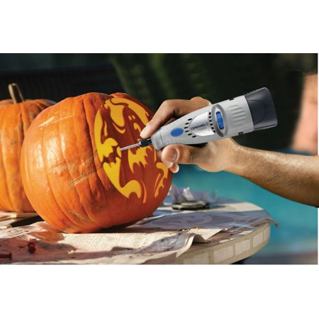 Dremel 7300-N/5 4.8V Rotary Tool With Pumpkin Carving Kit Bonus](Pumpkin Carving Tools Wholesale)