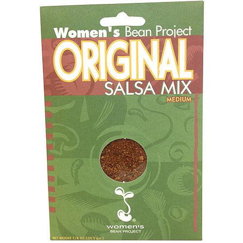 Women's Bean Project Original Medium Salsa Mix, 0.875 oz