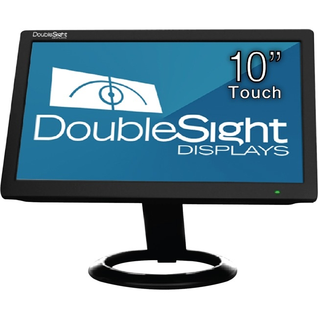 "DoubleSight Displays 10.1"" Touchscreen LCD Monitor (DS10UT Black)"