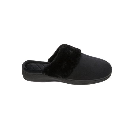 DF by Dearfoams Women's Velour Scuff Slippers ()