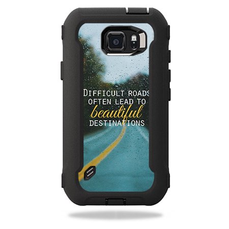 online store a07d6 330b9 Skin For OtterBox Defender Samsung Galaxy S6 Active Case – Difficult Roads  | MightySkins Protective, Durable, and Unique Vinyl Decal wrap cover | ...