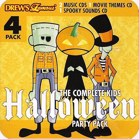 Drew's Famous: The Complete Kids Halloween Party Pack (4 Disc Box Set)