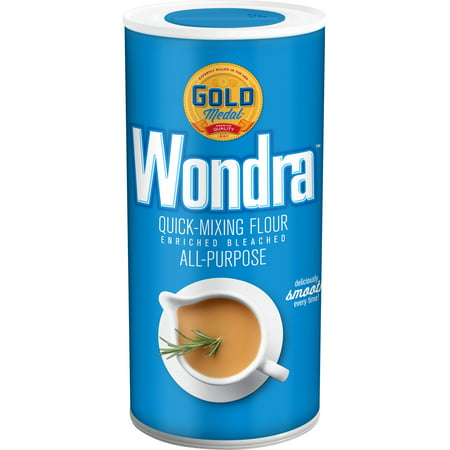 - (3 Pack) Gold Medal Wondra Quick Mixing, All-Purpose Flour, 13.5 oz