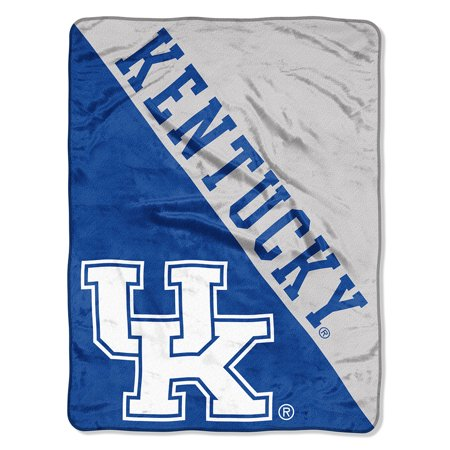 "- NCAA Kentucky Wildcats ""Halftone"" 46""x 60"" Micro Raschel Throw"