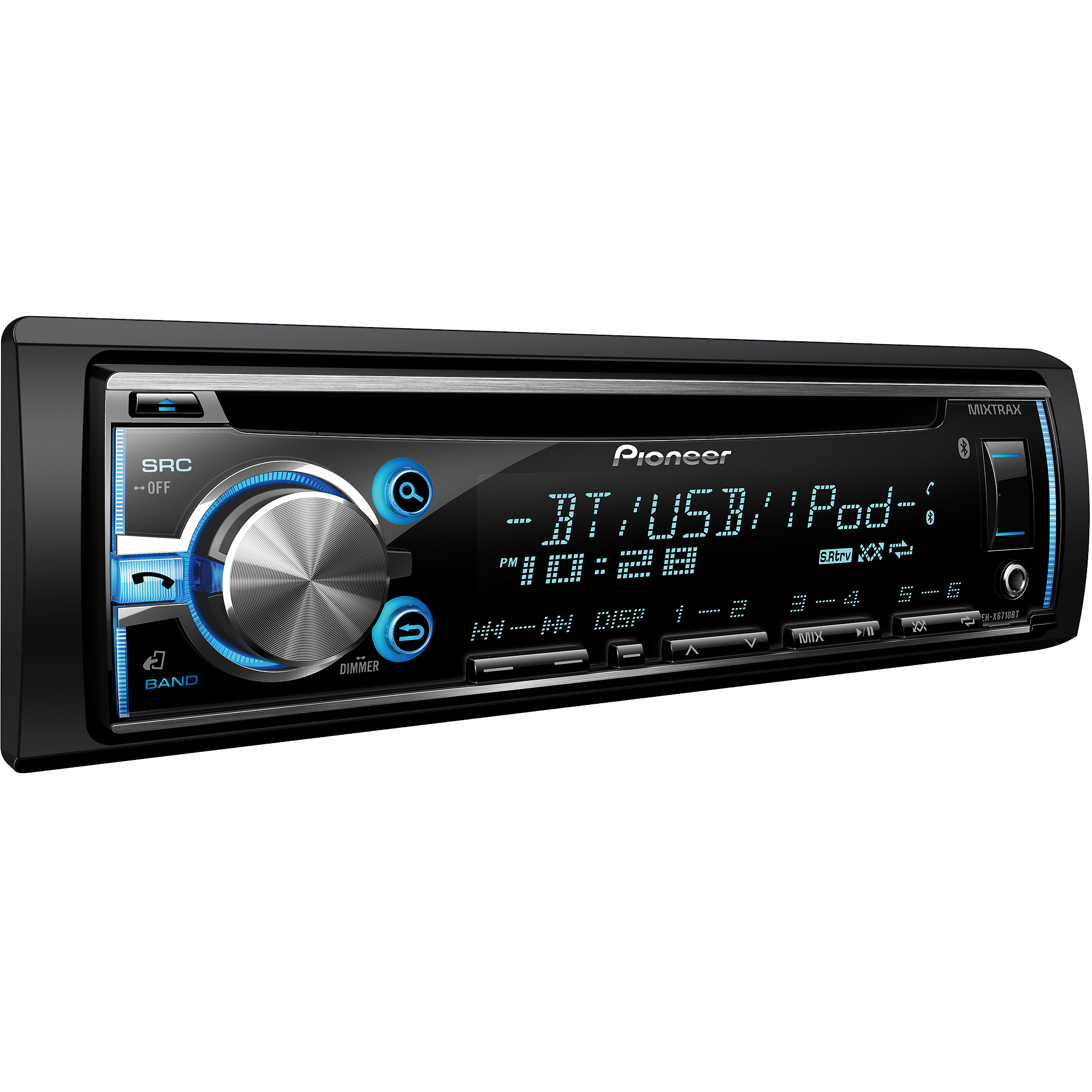 Stereos At Walmart Electronics Not Lossing Wiring Diagram Stereo Harness Pioneer Deh X6710bt Single Cd Receiver With Built In Car And Speakers System