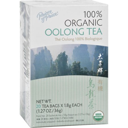 (3 Pack) Prince of Peace Organic Oolong Tea - 20 Tea (Formosa Oolong Tea)