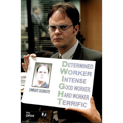 The Office Poster Amazing Shot of Dwight New 24x36 - Dwight Office Halloween