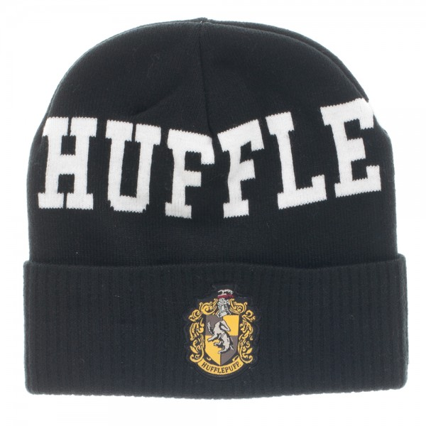 Beanie Cap - Harry Potter - Hufflepuff Cuff Hat New Toys Licensed kc34lahpt