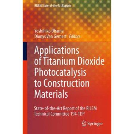 Application Of Titanium Dioxide Photocatalysis To Construction Materials