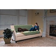 Hawthorne Ultra Plush Furniture Protector By Home Fashion Designs Brand (Sofa, Thyme / Sand)