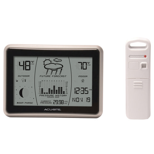 "AcuRite 6"" Digital Weather Station Forecaster 00621"