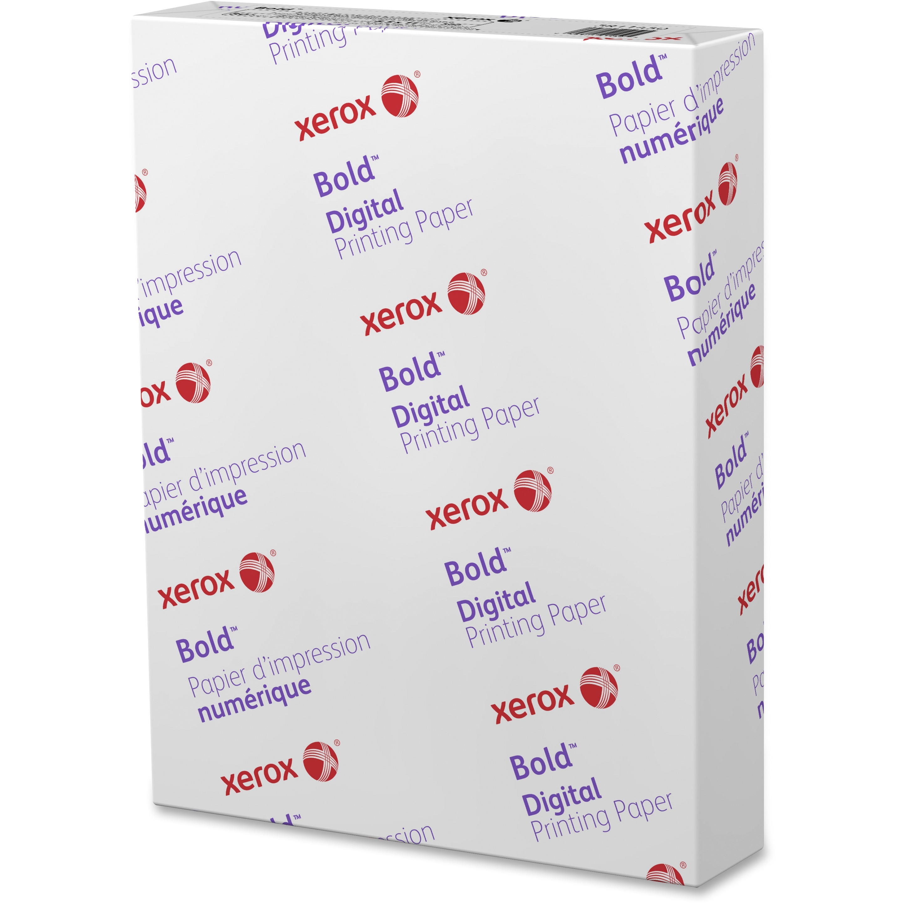Xerox, XER3R11450, Digital Color Elite Silk Text Cover Paper, 500 / Ream, White