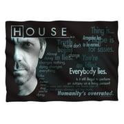 House Houseisms Pillow Case White One Size