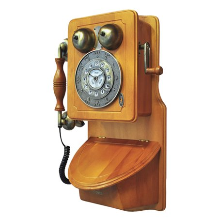 Retro Trim Phone (Pyle Retro Themed Coutry-Style American Heritage Wall-Mount)