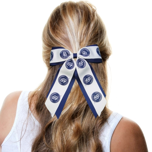 San Diego Padres Women's Jumbo Cheer Ponytail Holder - No Size