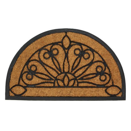 Half Moon Entry Mat Home Decor Home Decorative Items Accessories and Gifts, Adorn your front door with a stylish and functional mat. By Summerfield Terrace from -
