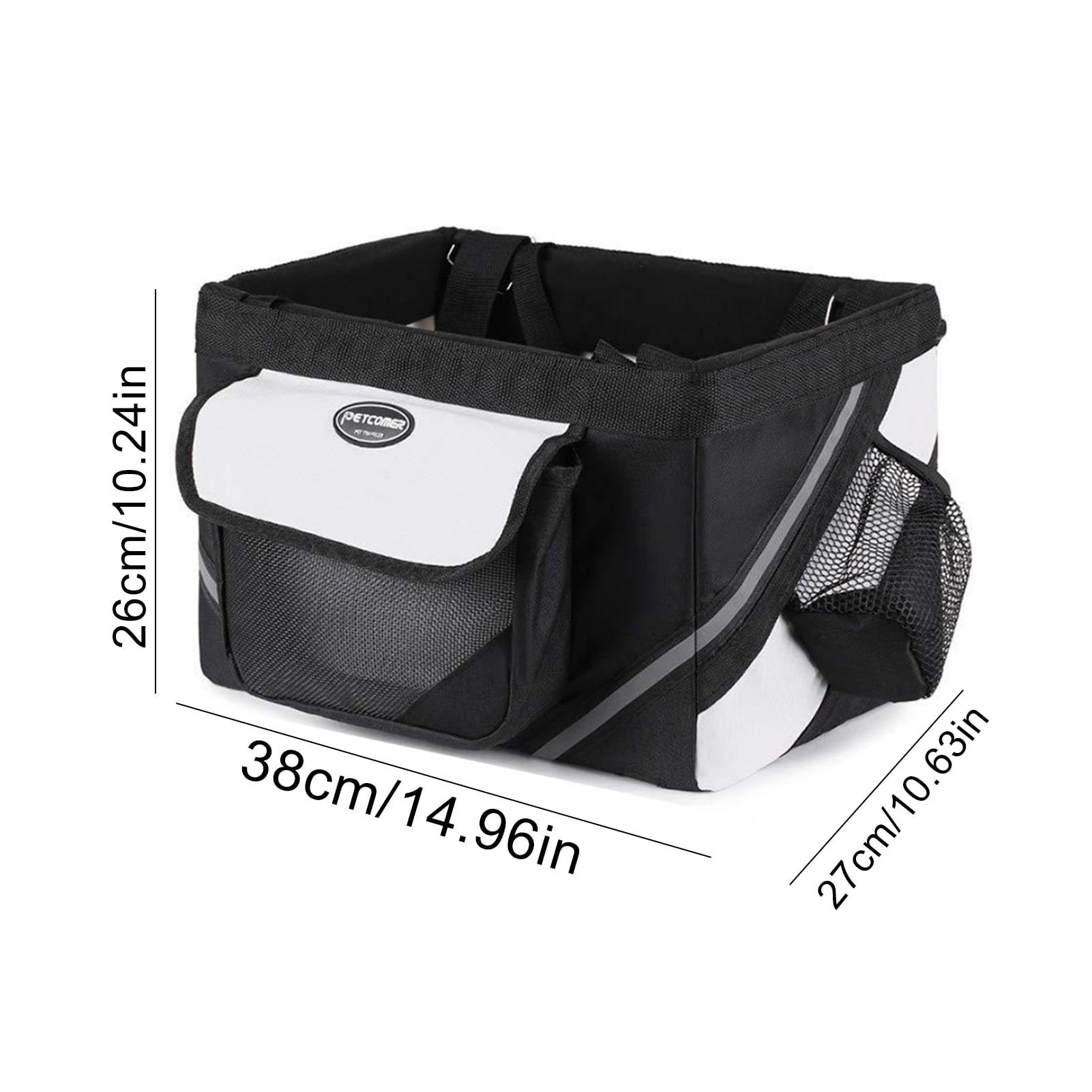 Details about  /Bike Basket Mount Bicycle Front Pet Carrier Mounting Holder Pet Quick V9C6