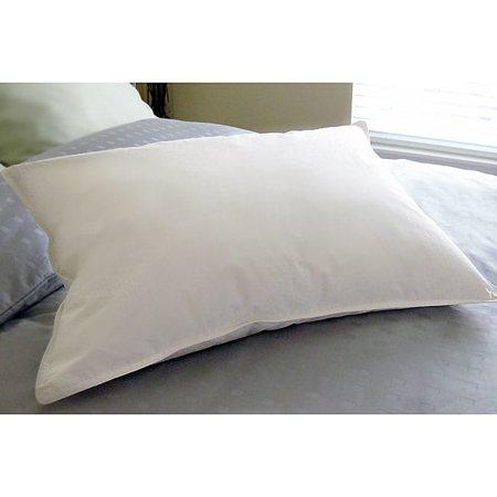 Blue Ridge Home Fashions Arctica Cotton Cover White Down Pillow