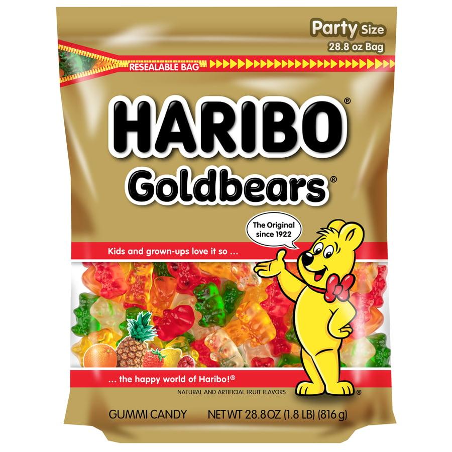 Haribo, Gold-Bears Gummi Candy, 28.8 Oz
